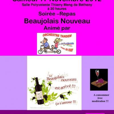 2012 Soirée Beaujolais