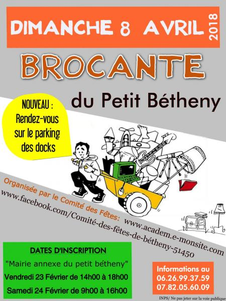 2018 brocante-petit-betheny