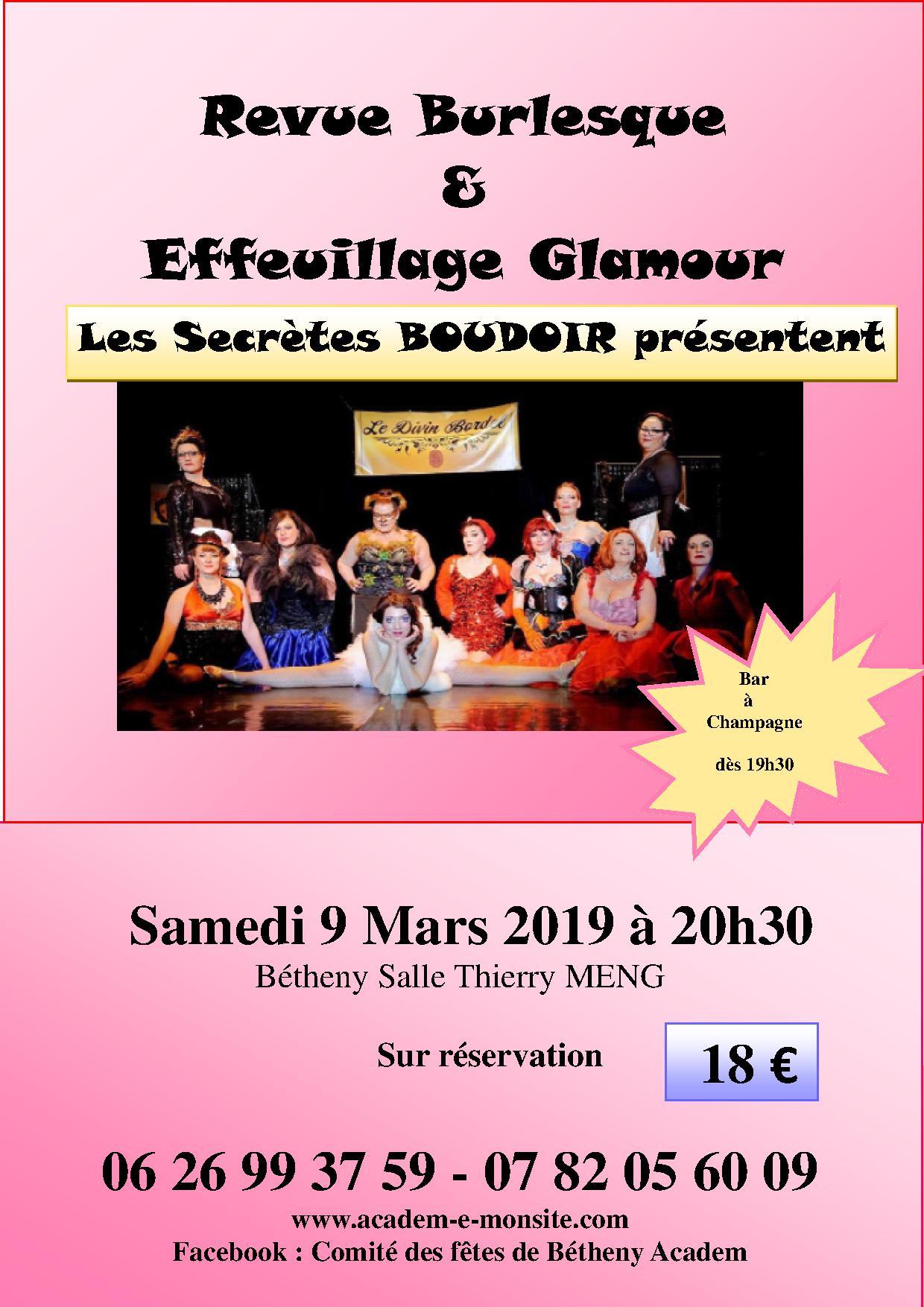 9 mars 2019 secrete boudoi