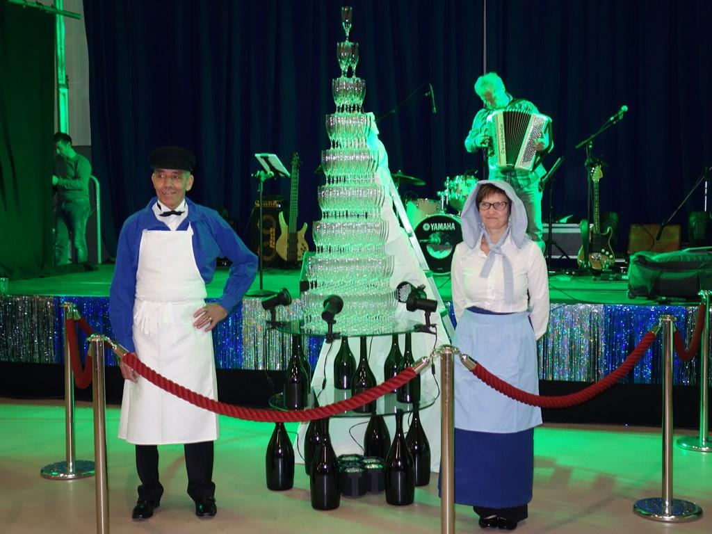 Fontaine de Champagne en l'apéro