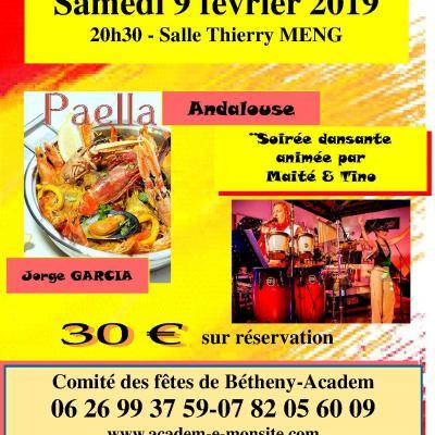 2019 Soirée Paella du 9 février