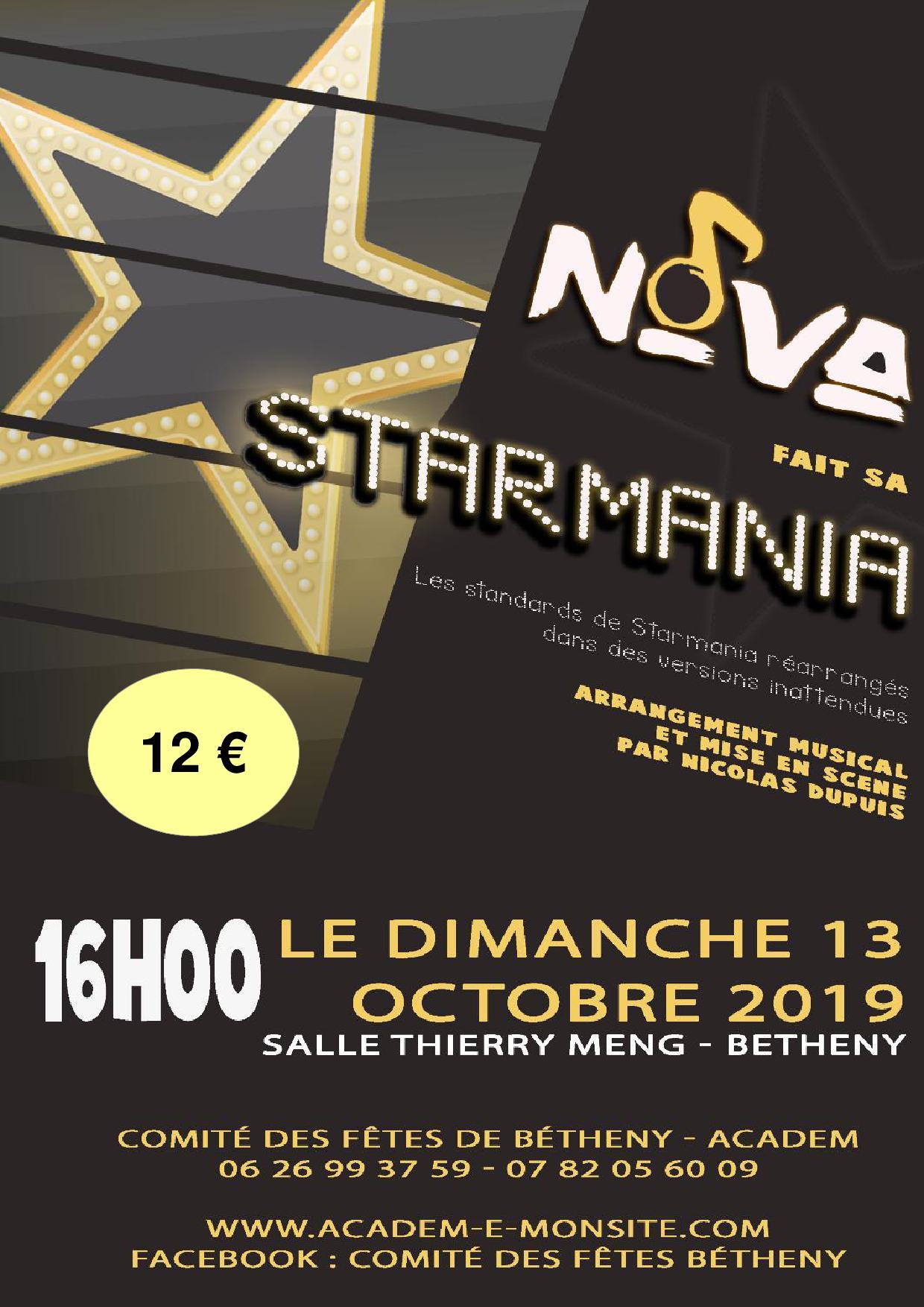 STARMANIA13 OCT 2019